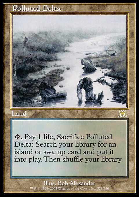 Polluted Delta original card image