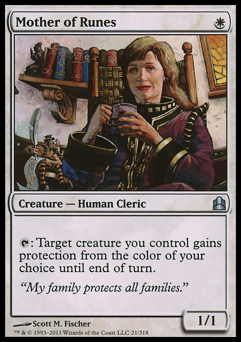 Mother of Runes card from Magic: The Gathering-Commander