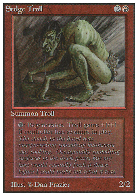 Sedge Troll