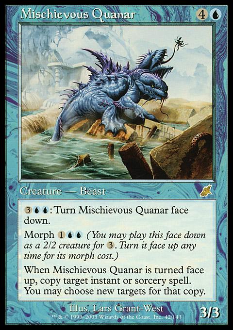 Mischievous Quanar