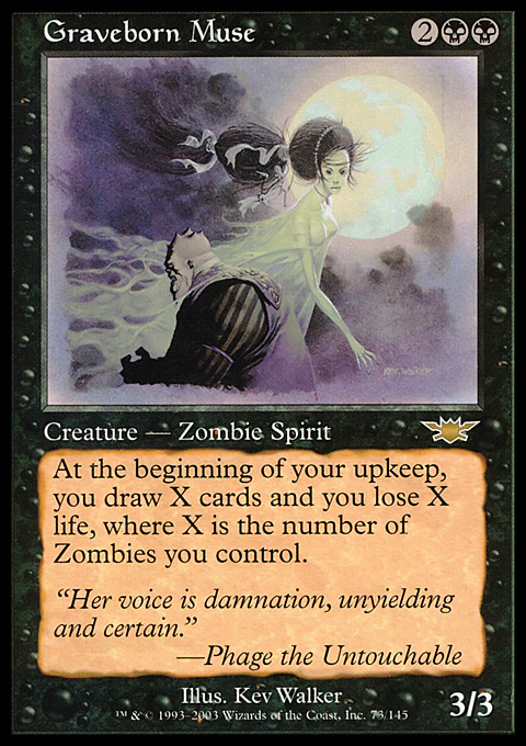Graveborn Muse