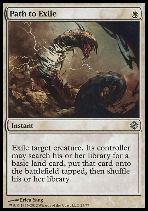 Path to Exile card from Duel Decks: Venser vs. Koth
