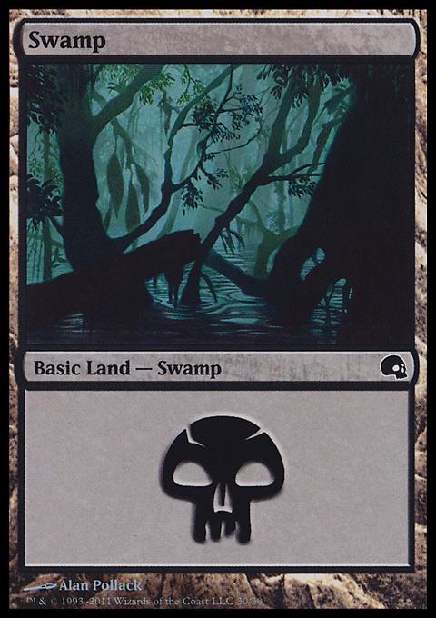 Swamp (30)  card from Premium Deck Series: Graveborn
