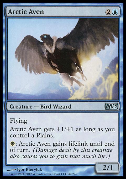 Arctic Aven original card image
