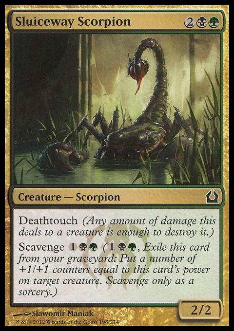 Sluiceway Scorpion