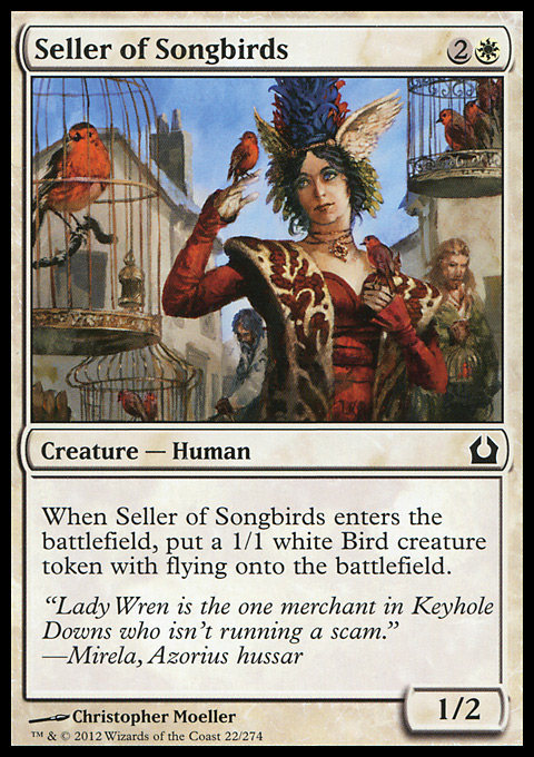 Seller of Songbirds