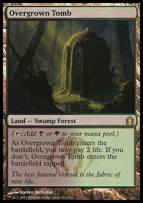 Overgrown Tomb original card image