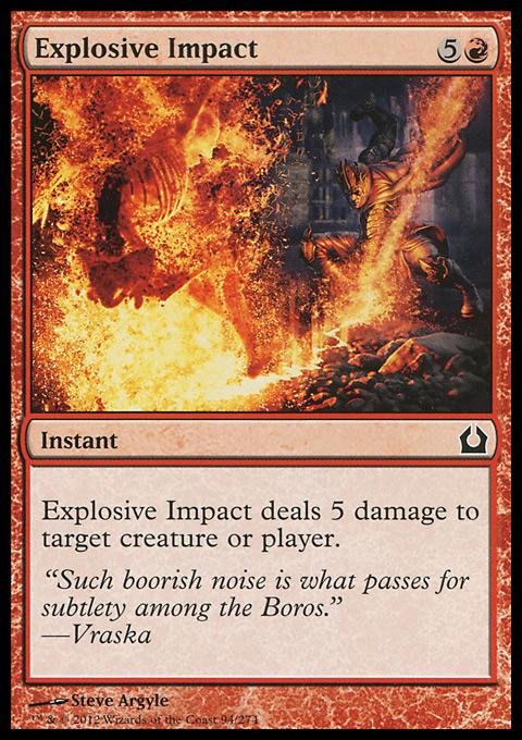 Explosive Impact