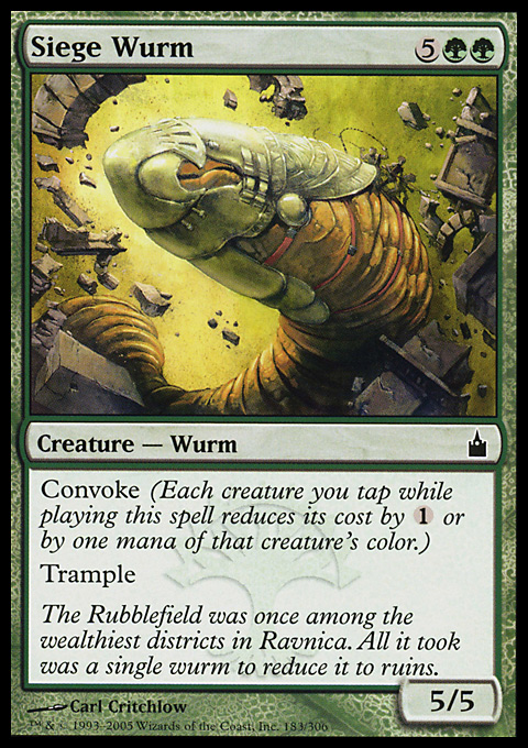 Siege Wurm