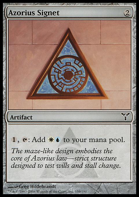 Azorius Signet original card image
