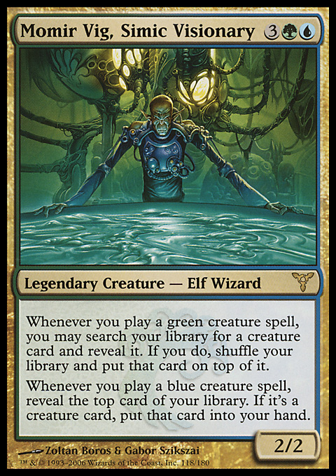 Momir Vig, Simic Visionary original card image