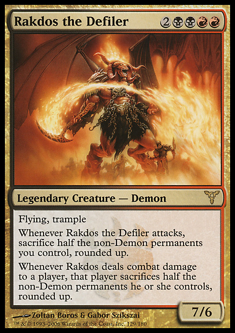 Rakdos the Defiler original card image