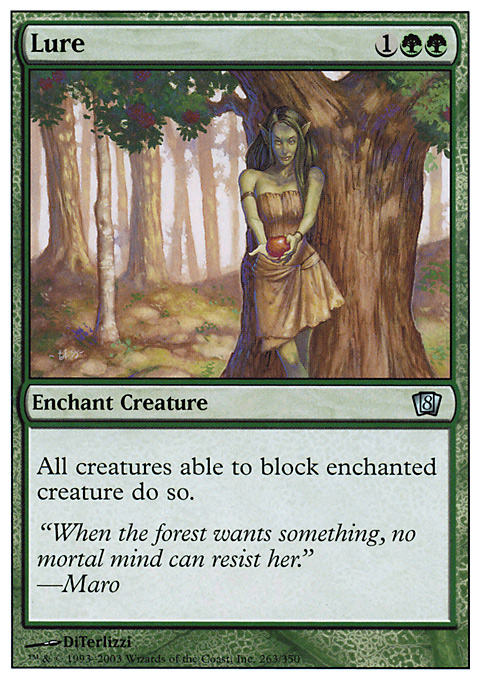 Lure card from Eighth Edition