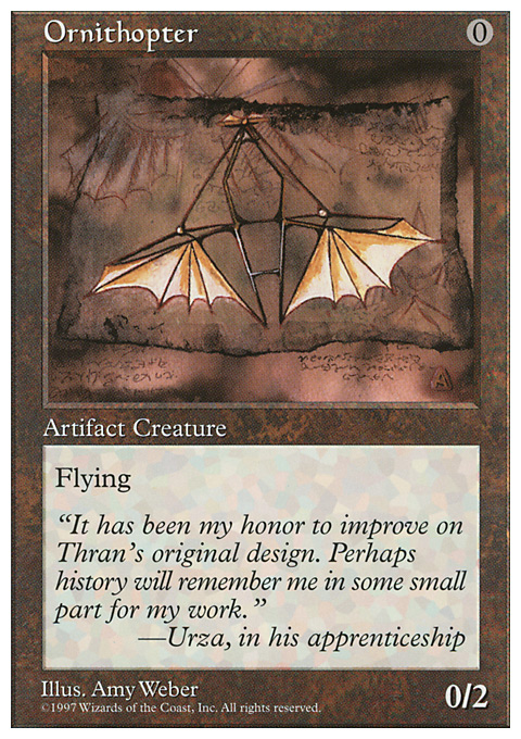 Ornithopter original card image