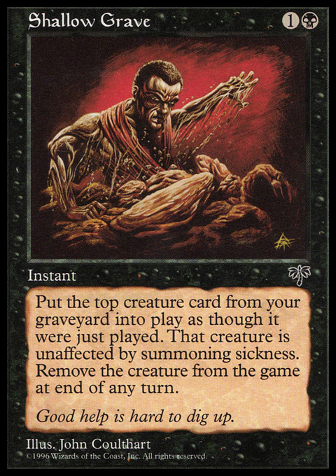 Shallow Grave original card image