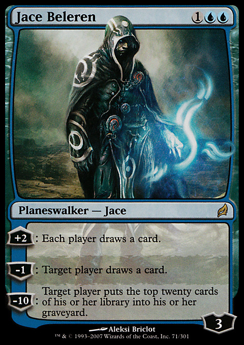 Jace Beleren original card image