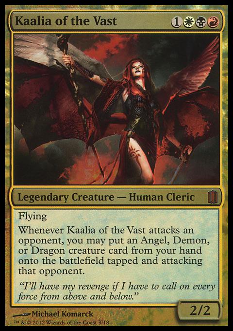 Kaalia of the Vast original card image