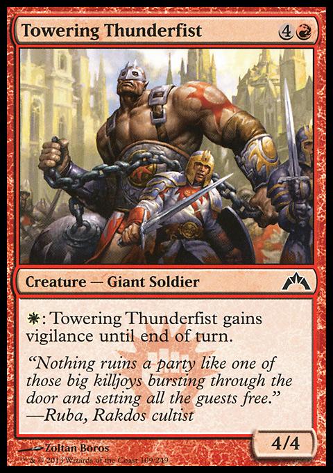 Towering Thunderfist