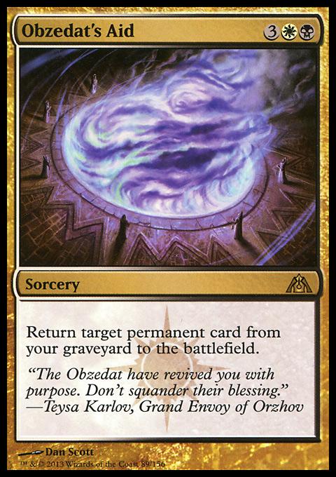 Obzedat's Aid