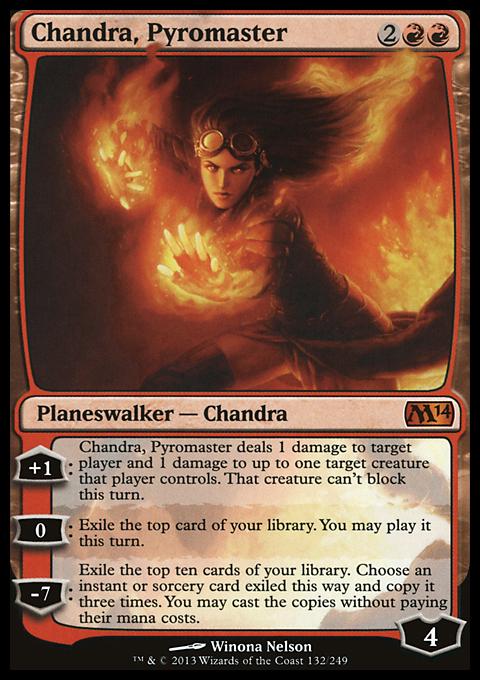 Chandra, Pyromaster original card image