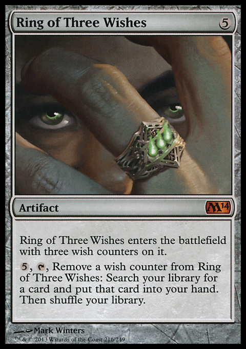 Ring of Three Wishes