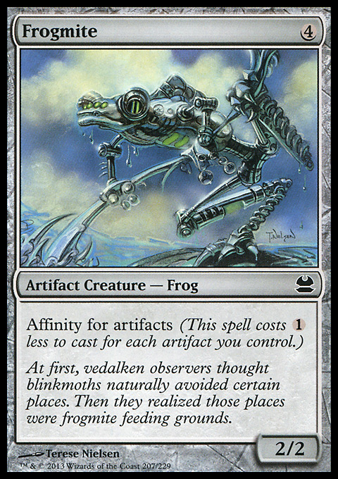 Frogmite card from Modern Masters
