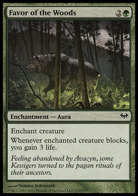 Favor of the Woods