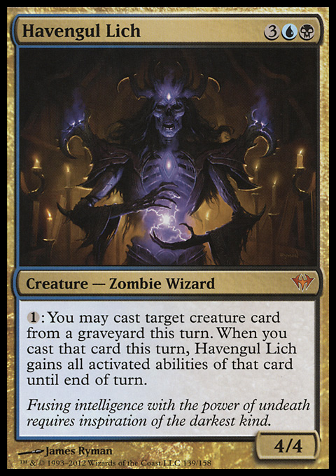 Havengul Lich original card image