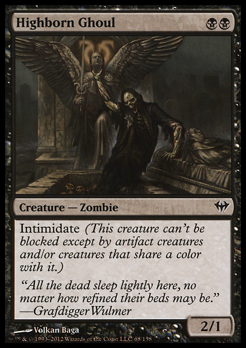 Highborn Ghoul