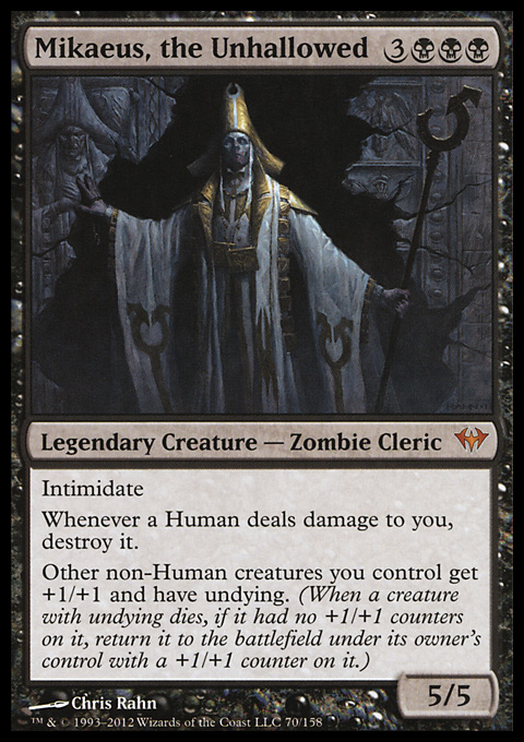 Mikaeus, the Unhallowed original card image