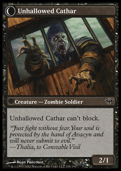 Loyal Cathar (remove)