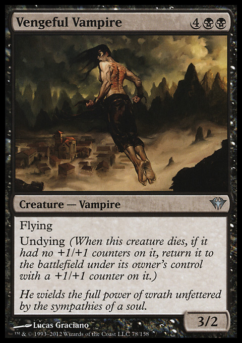 Vengeful Vampire