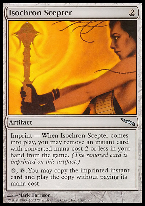 Isochron Scepter original card image