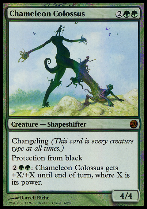 Chameleon Colossus card from From the Vault: Twenty