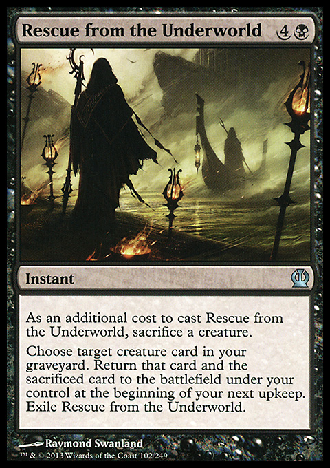 Rescue from the Underworld