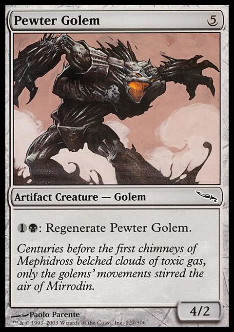 Pewter Golem