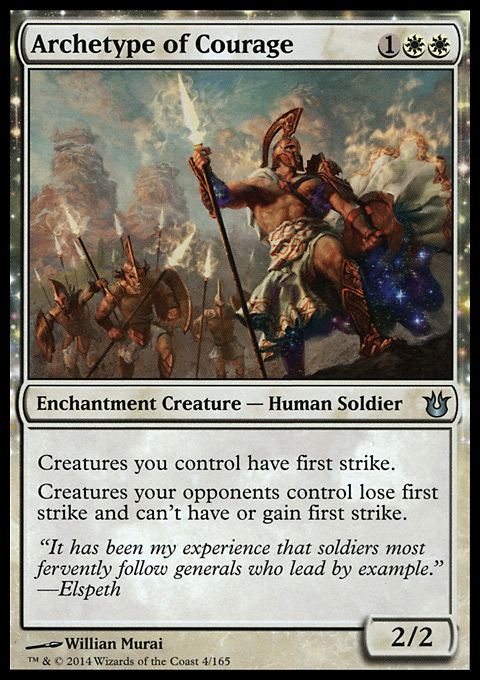 Archetype of Courage