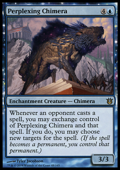 Perplexing Chimera
