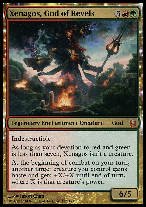 Xenagos, God of Revels original card image