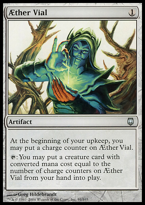 AEther Vial original card image