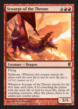 Scourge of the Throne original card image