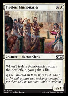 Tireless Missionaries