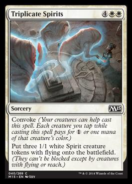 Triplicate Spirits