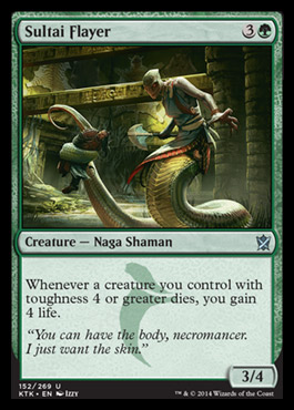 Sultai Flayer original card image