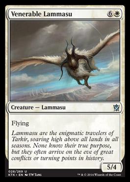 Venerable Lammasu