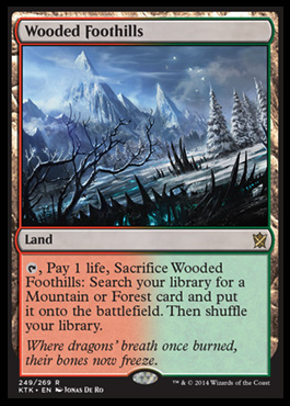 Wooded Foothills original card image