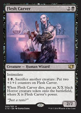 Flesh Carver original card image