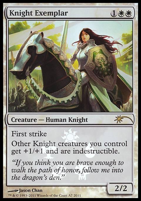 Knight Exemplar card from Media Promos