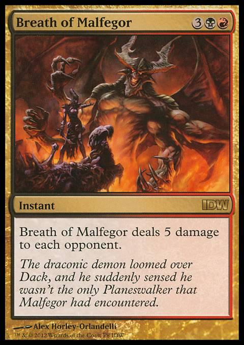 Breath of Malfegor (IDW Comics 2012)