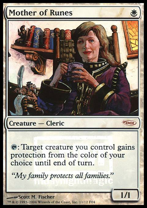 Mother of Runes card from FNM Promos